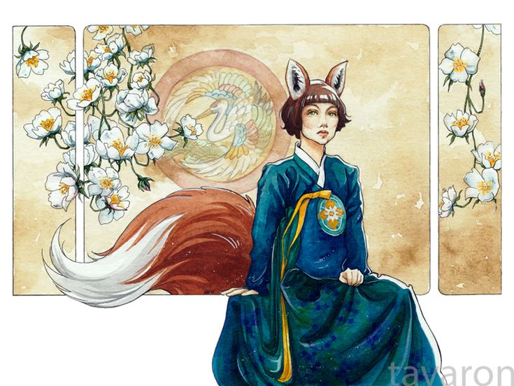 korean kumiho by tavaron.deviantart.com on @deviantART