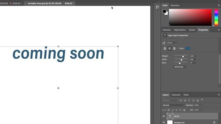 Adobe Previews Upcoming Variable Fonts Feature For Photoshop Cc #photography #photoshop https://9to5mac.com/2017/09/28/adobe-previews-upcoming-variable-fonts-feature-for-photoshop-cc/