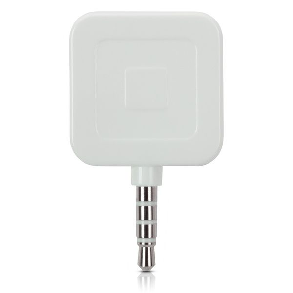 The Square mobile credit card reader allows you to accept credit card payments with either a smartphone or tablet running iOS or Android by using the Square card reader app.