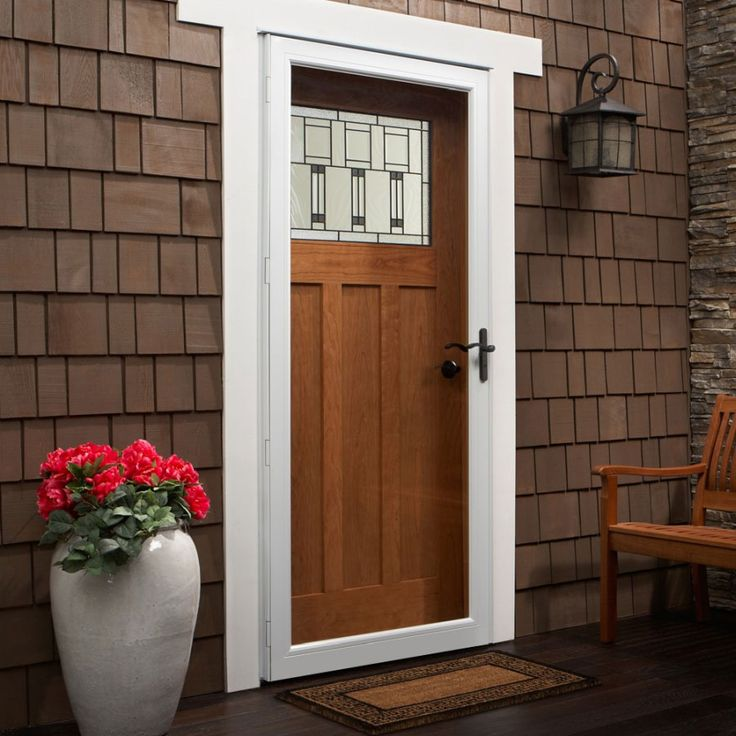 25 best andersen storm doors images on pinterest for Andersen french door retractable screens
