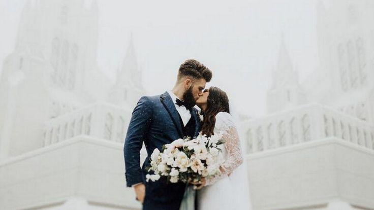 Nationals star Bryce Harper shares beautiful wedding photo #nationals #bryce #harper #shares #beautiful #wedding #photo