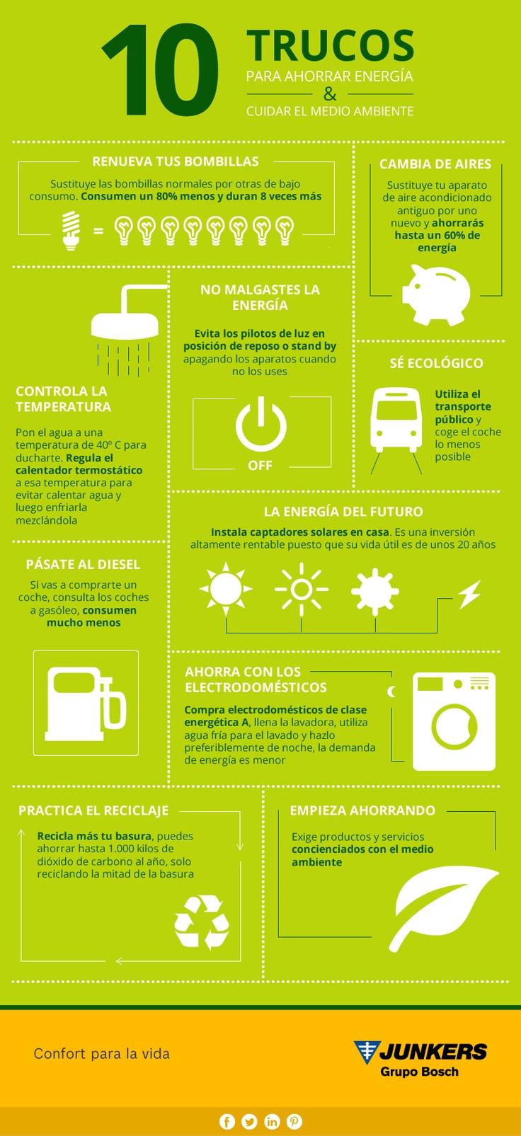 10 trucos para ahorrar energ a y cuidar el medio ambiente - Trucos ahorrar luz ...
