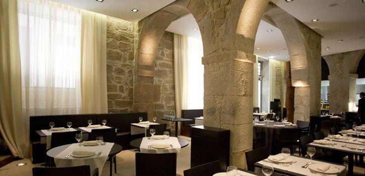 Restaurant Forno Velho im sehr stylishen Hotel CH Carris Porto Ribeira