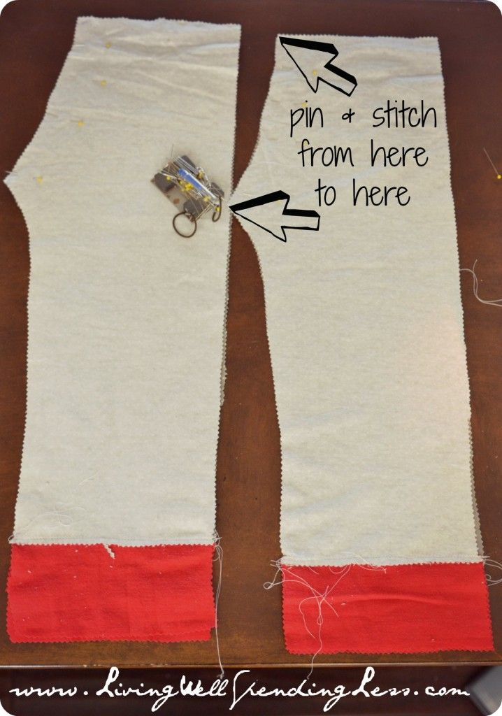 Easy-to-Sew Pajama Pants Tutorial | Handmade Holidays