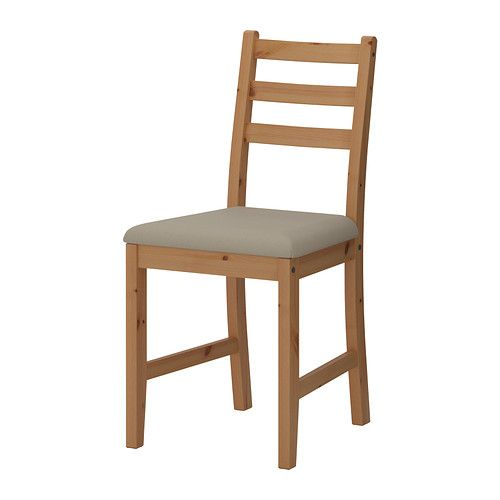 Possible dining chair LERHAMN Chair, light antique stain, Vittaryd beige  $35.00Price/  Article Number: 202.686.39