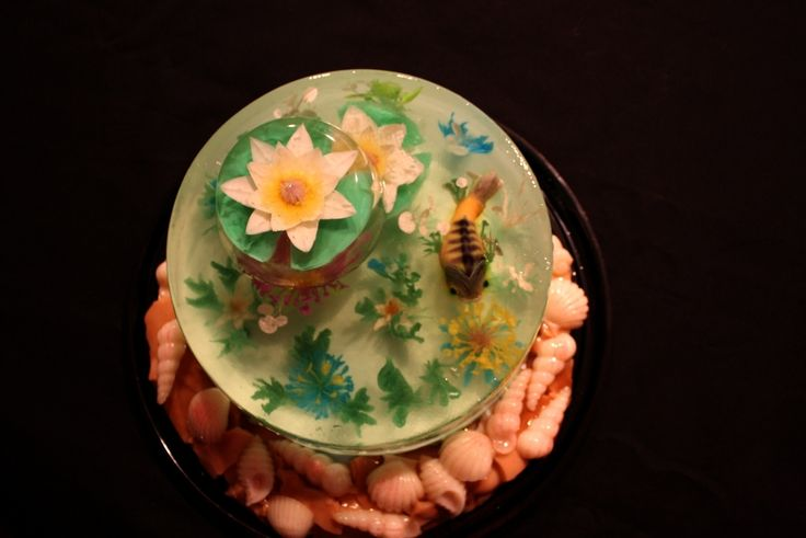 Gelatin Cake Art : 17 mejores imagenes sobre GELATIN ART - Fruiti Jiggle-uti ...