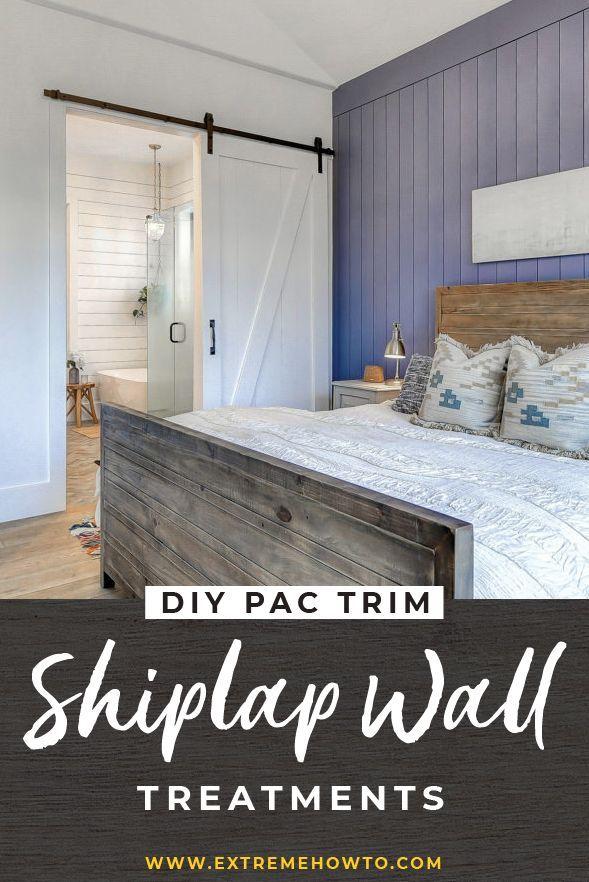 DIY Shiplap: horizontal, vertical or angled applic…