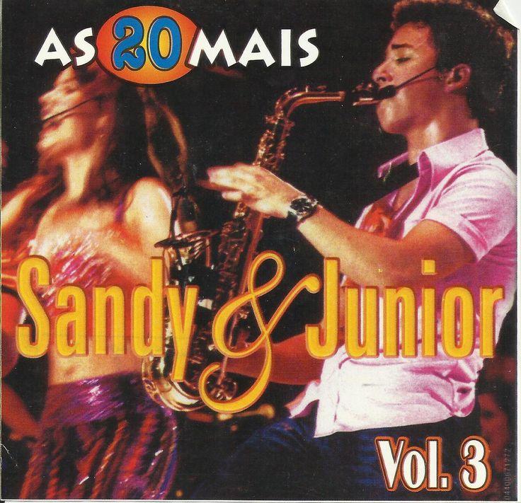 CD As 20 mais de Sandy & Junior - Volume 3