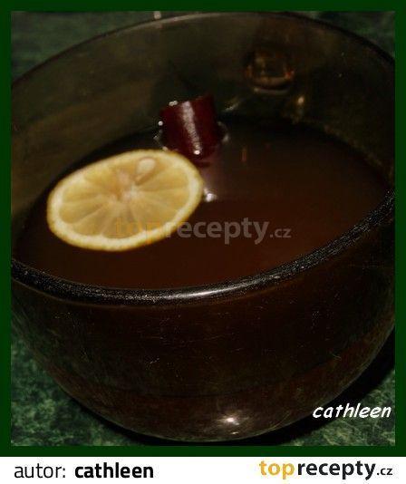 Čertův čaj - bolest v krku, nachlazení: Fotka nic moc, ale čaj krásně voní a opravdu dýchací cesty protáhne :-)
