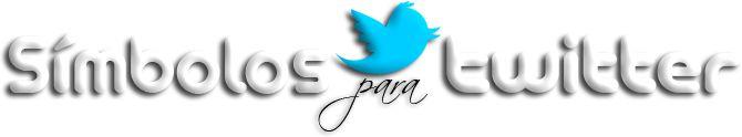 Símbolos para Twitter, más de 400 símbolos y dibujos para decorar tus Tweets