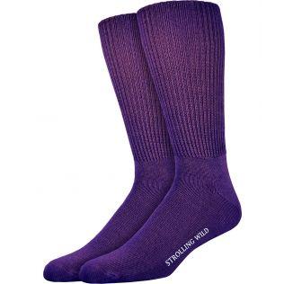 Purple Cashmere Socks for Men