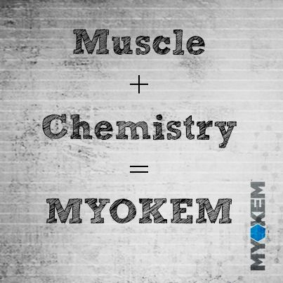 Where did our name come from?  When you mix Muscle and Chemistry you get MYOKEM!  #bodybuilding #nitramine #myokemnation #defylimitations #scienceoverhype #weightlifting #gymrat #myokem #preworkout  #fitness #bodyimage