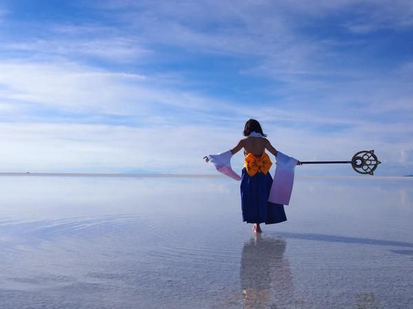 ウユニ塩湖でユウナの異界送り3