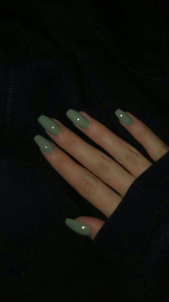 Die schönsten Acrylnägel für die Maniküre im Sommer 2019 # nails # naildesig…