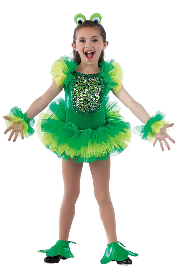 15541 Leap Frog | Novelty Dance Costumes | Dansco | Dance Fashion 2014 2015  | Pinterest Keywords: Frog