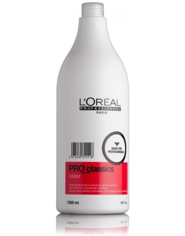 Professional shampoo by Loreal for beauty health hair. Отлично ухаживает и питает окрашенные волосы Лореаль классик про #Loreal #pro_classic