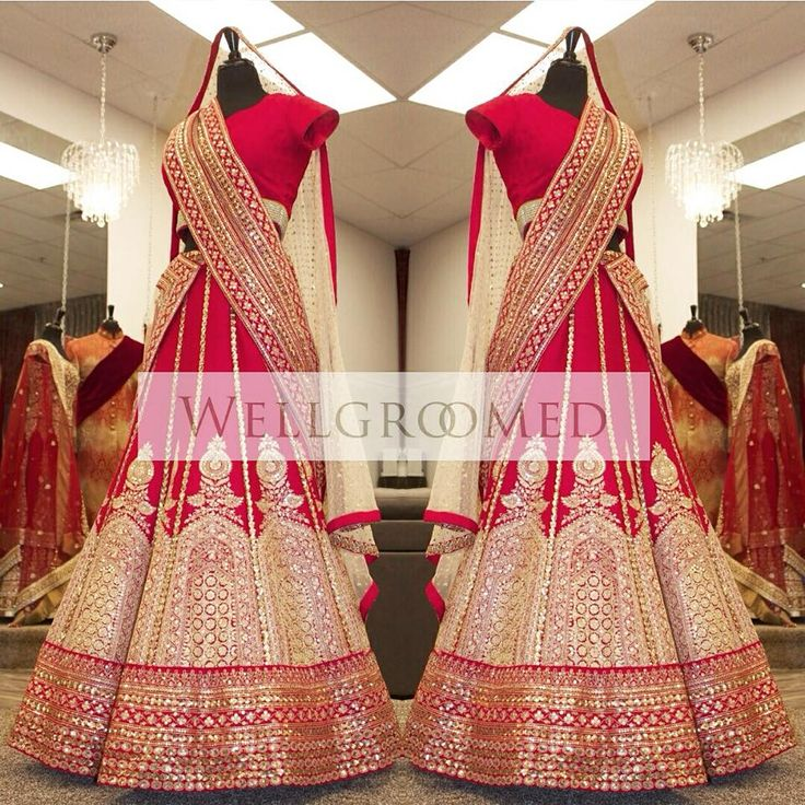 Another masterpiece #lehenga by Wellgroomed Designs Inc