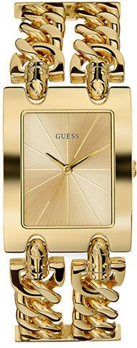 GUESS Ladies' Rocker Gold-Tone Chain Link Watch on shopstyle.com