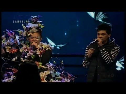 MIKHA ANGELO & MELLY GOESLAW - JIKA - GALA SHOW 9 - X Factor Indonesia 19 April 2013