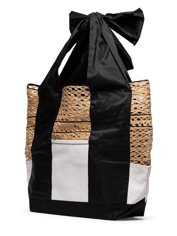 Rosie Assoulin حقيبة عملية قماش كبيرة Farfetch Gym Bag Style Fashion