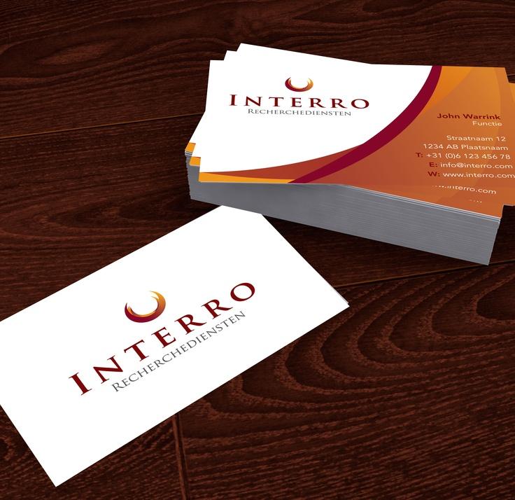 Business card #Interro Recherchediensten/investigations