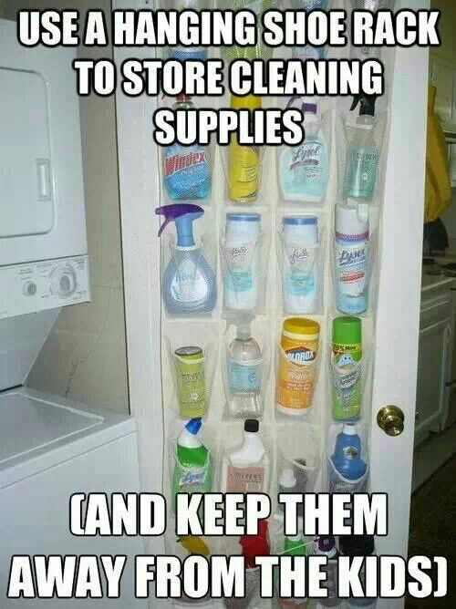 So much neater than under a cabinet