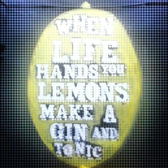 #gin #lemons #quotes