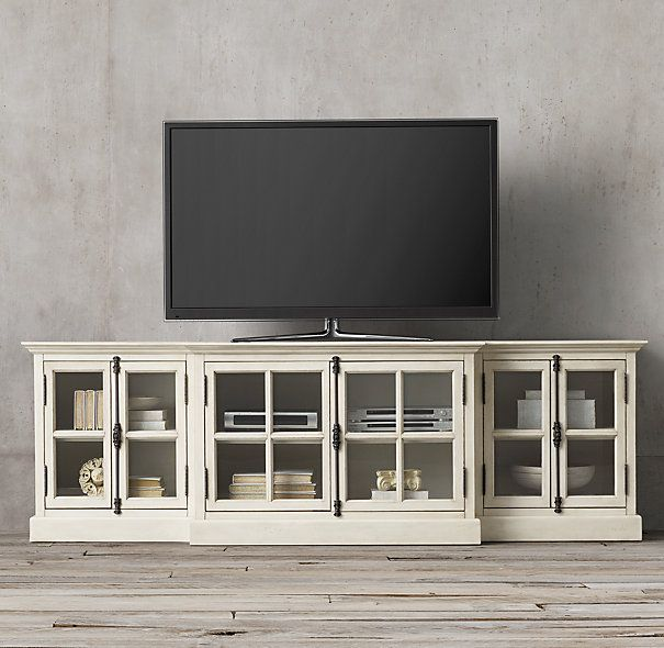 French Casement 100 Quot Media Console Modern Country Living