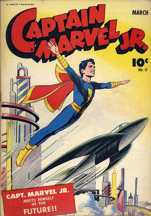 captain marvel junior | Captain Marvel Jr. #17