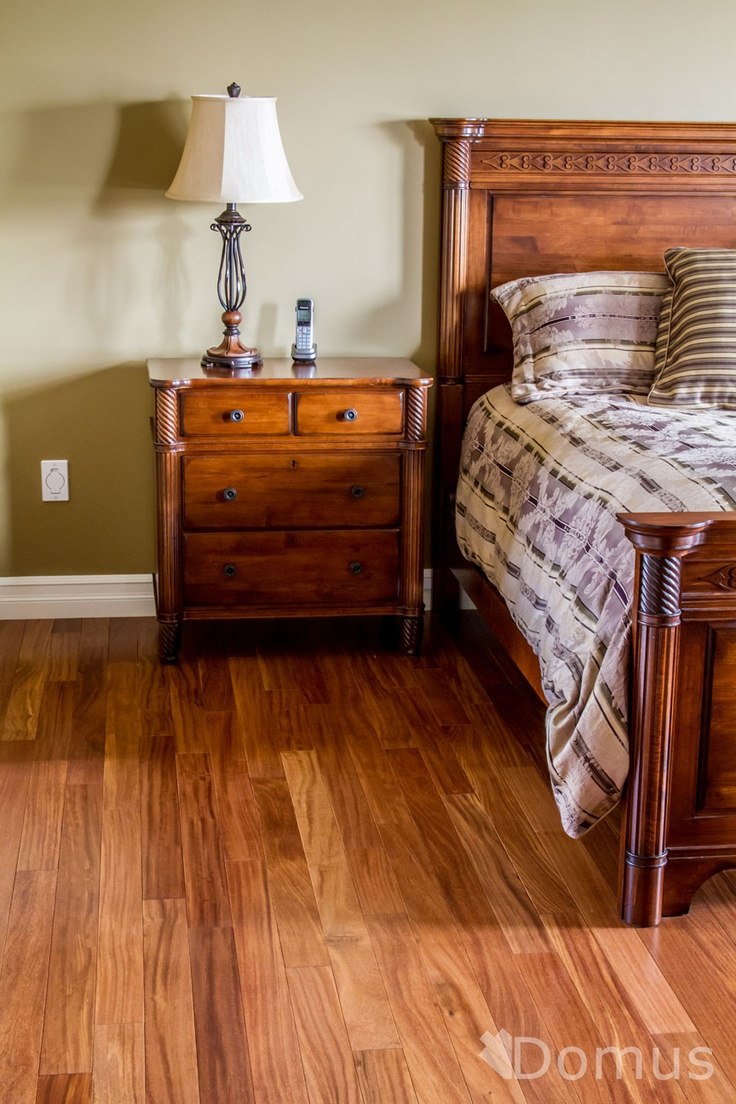 Cumaru hardwood flooring in master bedroom hardwood for Red cumaru flooring