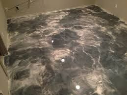 Metallic Epoxy Flooring Des Moines IA