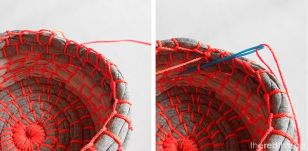 the red thread :: create, inspire, share | Make a Fabric Coil Bowl | http://www.theredthreadblog.com