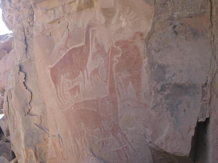 Taira , Norte de Chile, Pintura Rupestre