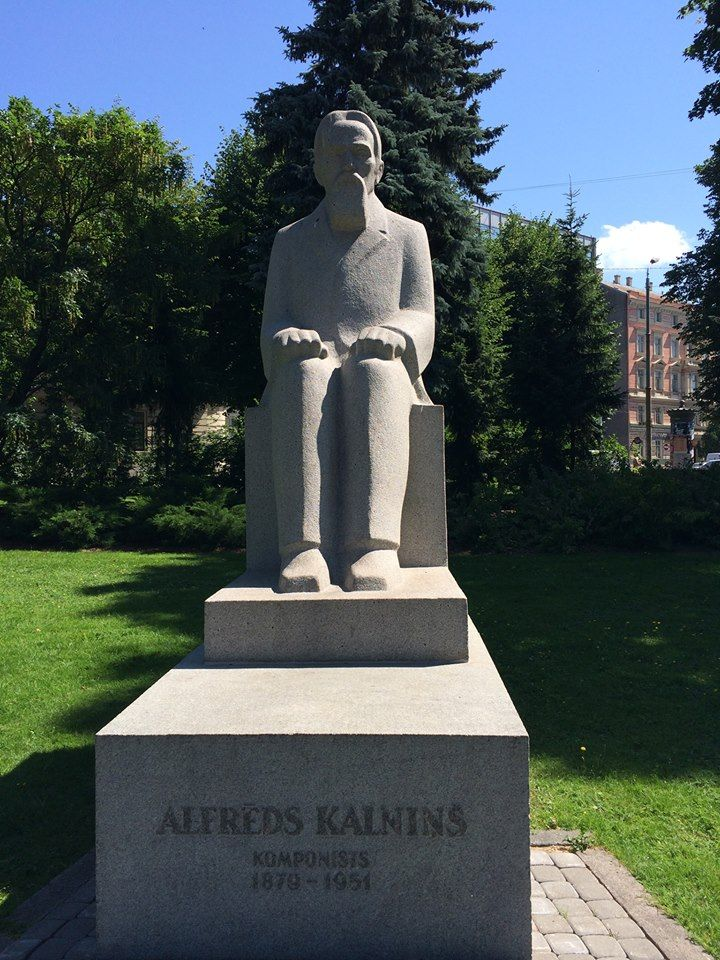 Alfreds Kalnins mounument