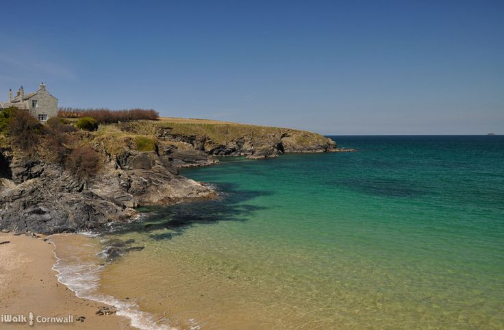 Onjohn Cove, near Mother Ivey's Bay, Cornwall. A farm labourer found neck ornaments from the Bronze Age in a field here; they are made of pure gold beaten into a thin sheet.