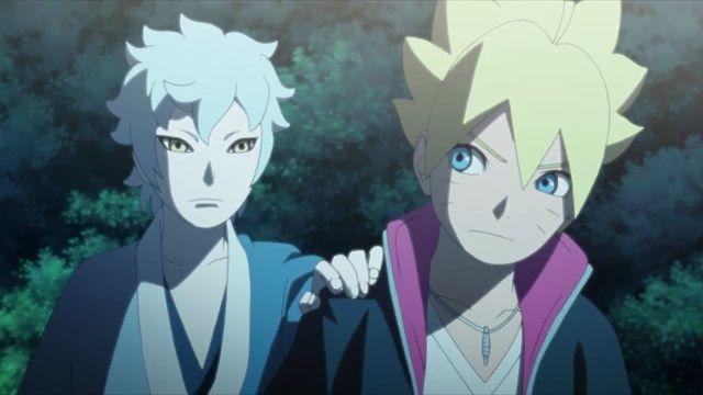 Boruto e Mitsuki