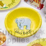 Dear Zoo Paper Bowls - pack of 8