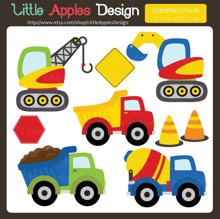 Hello, welcome to Little Apples Design!    Cute Construction Images / Clip Art    This is printable file and no physical items will be mailed to you. -----------------------  INFORMATION  -----------------------  You will receive - 9 PNG 300 ppi (approx. 6 each)    * Perfect for digital and perfect to print.    -------------- ORDER  -------------- INSTANT DOWNLOAD after your purchase (1 zip file)    Should you have any trouble downloading the files please contact me via Etsy Conversation…