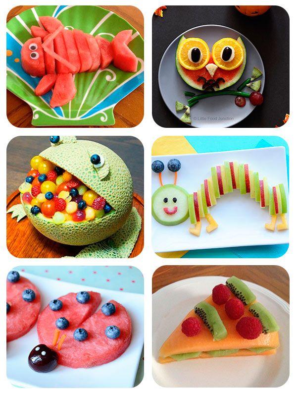 recetas para nios ideas creativas con fruta