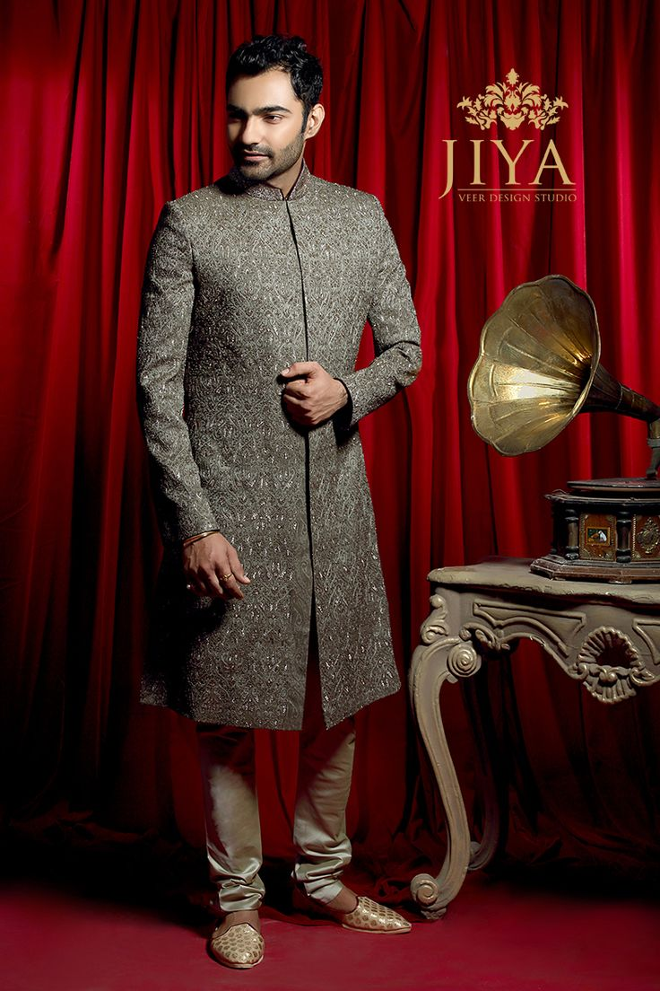 A well cut sherwani with fine zardozi embroidery embellished allover, say hello to the suave new Harit Sherwani. #suave #vintage #styling #menswear #groomwear #mensstyling #groomstyle #meninstyle #instamen #achkan #angrakha #bandhgala #kurta #offwhite #pearl #weddinginspiration #groomstyle #indianmenswear #indiangroomwear #groomwearinspiration #ootd #potd #picoftheday #instagram