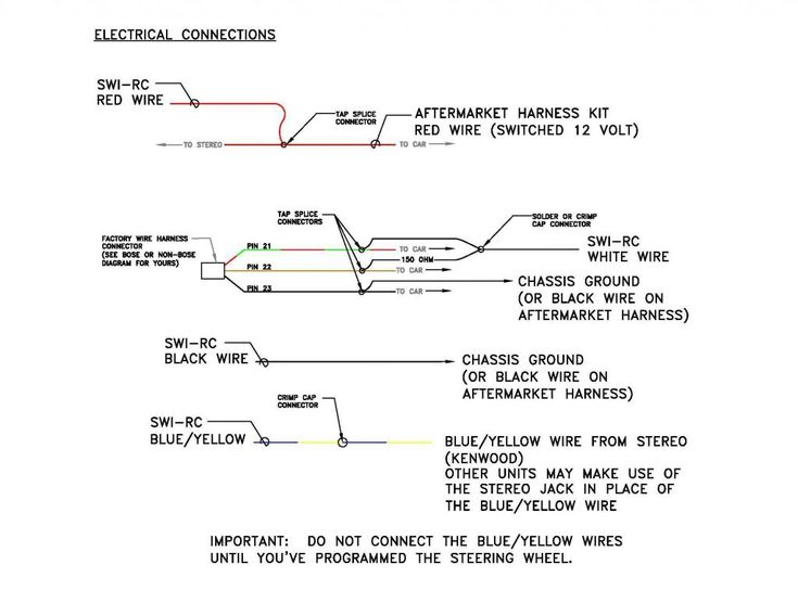 Steering Wheel Control Wiring Diagrams  U2013 Volovets Info