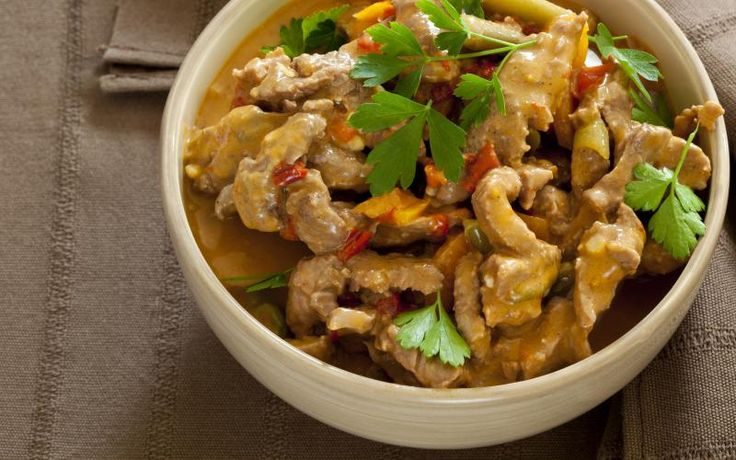 Thai coconut red curry recept