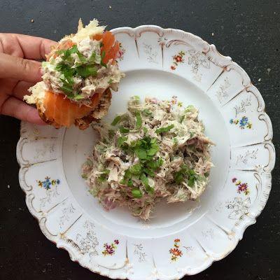 המטבח של סיון: וואיט פיש סאלאד או סלט של דג מעושן