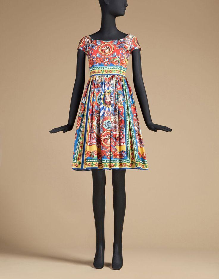 Dolce&Gabbana   F6UT0TFP5PNX0860   3/4 length dresses   Dresses