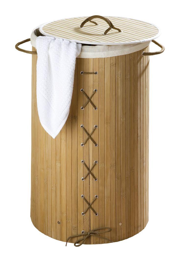 Superb WENKO W schetruhe Bamboo Natur W schekorb l Description Die W schetruhe Bamboo in nat rlicher Bambus