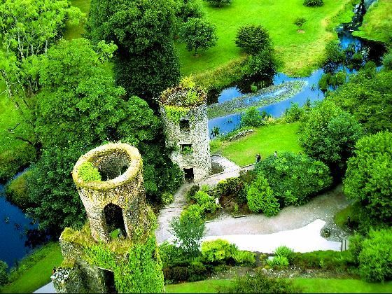 County Cork, Ireland. To kiss the Blarney Stone! ... and maybe get hella wasted at a real life Irish pub!! lol