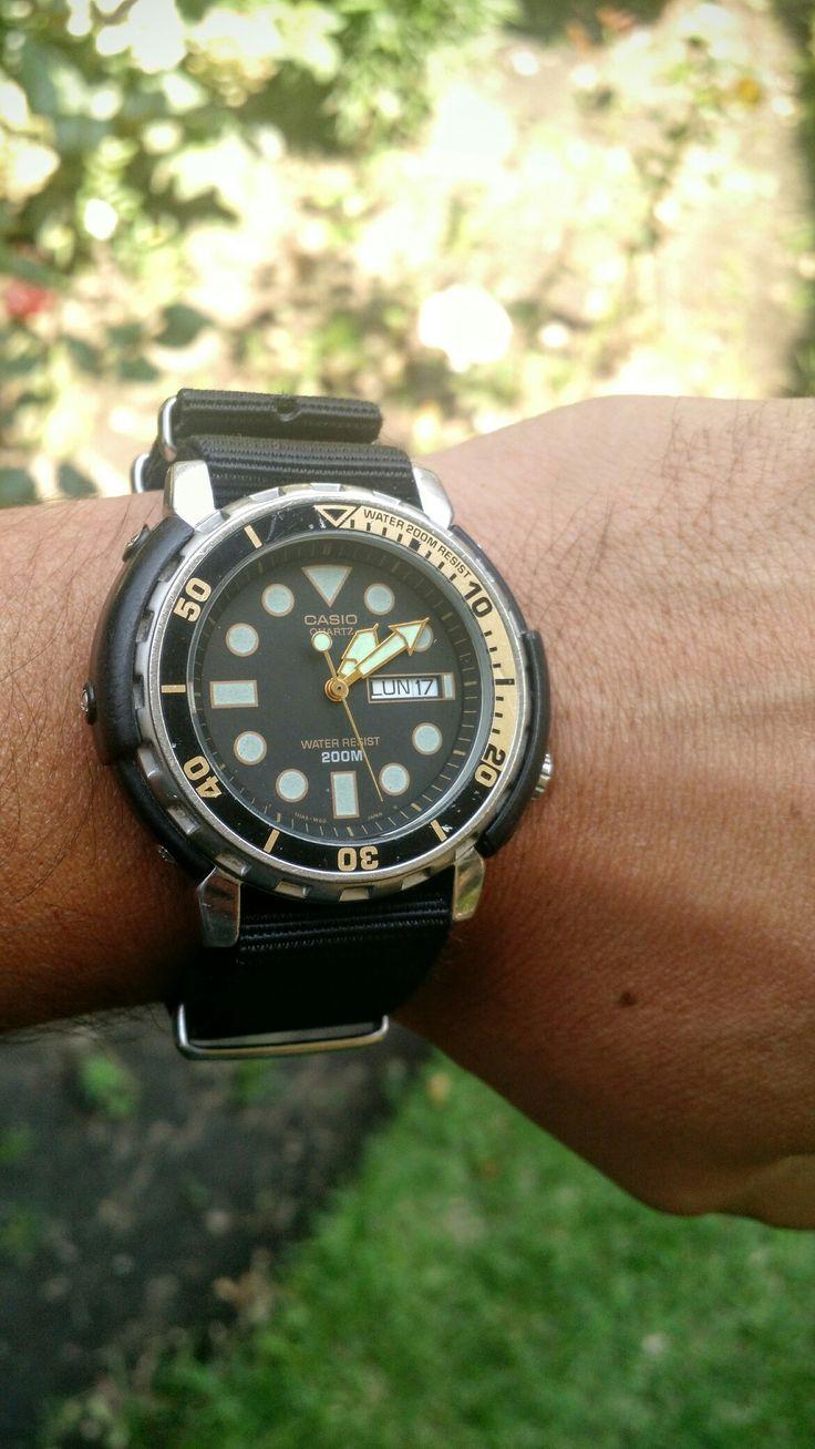 how to adjust casio vintage watch