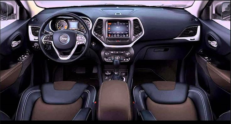 Jeep Grand Cherokee 2018 Interior Design