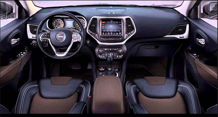 Jeep Grand Cherokee 2018 Interior Design