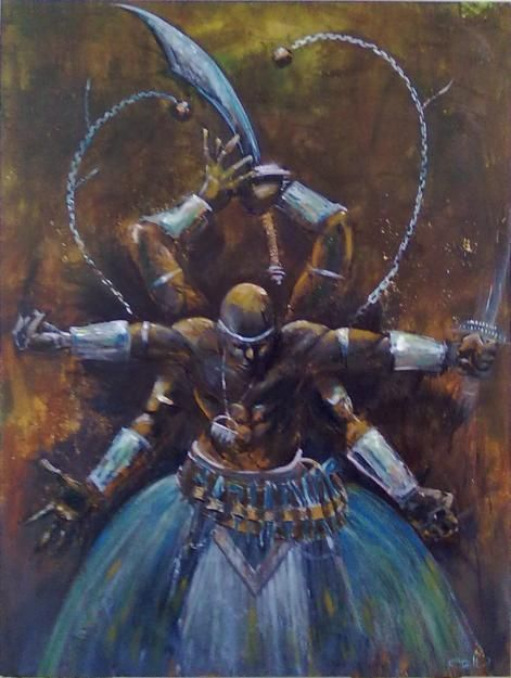 trickster African mythology. (so freaking cool looking)